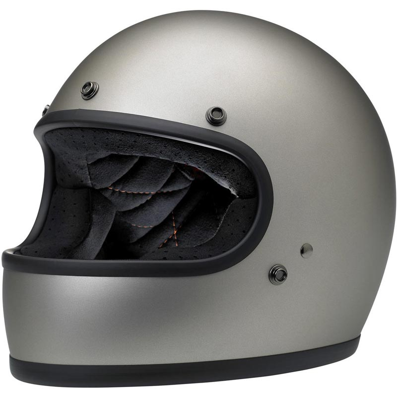 casque biltwell gringo ece flat titanium int gral moto biker. Black Bedroom Furniture Sets. Home Design Ideas
