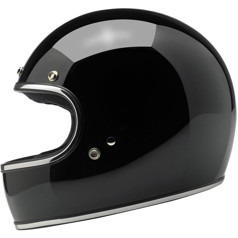 casque biltwell gringo ece gloss black int gral moto biker. Black Bedroom Furniture Sets. Home Design Ideas