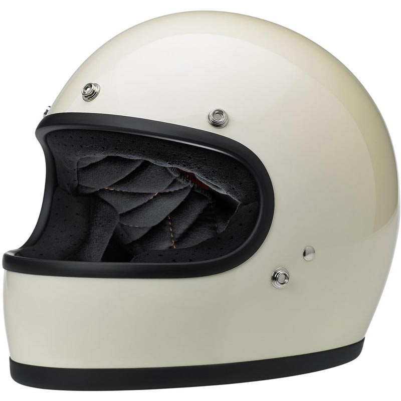 casque biltwell gringo ece gloss vintage white int gral moto biker. Black Bedroom Furniture Sets. Home Design Ideas