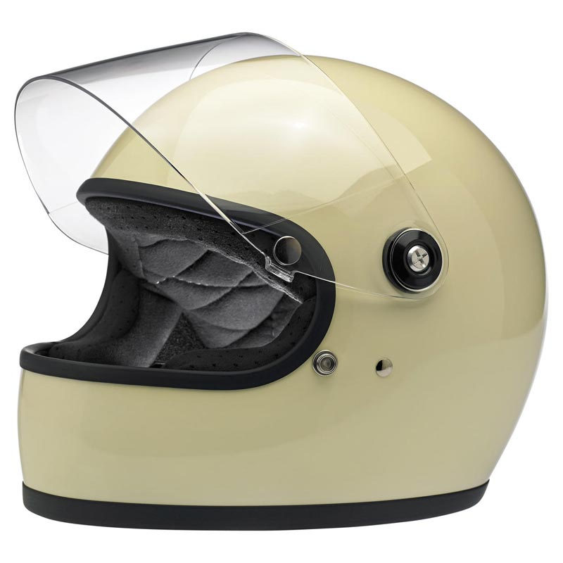 casque biltwell gringo s ece gloss vintage white int gral moto biker. Black Bedroom Furniture Sets. Home Design Ideas
