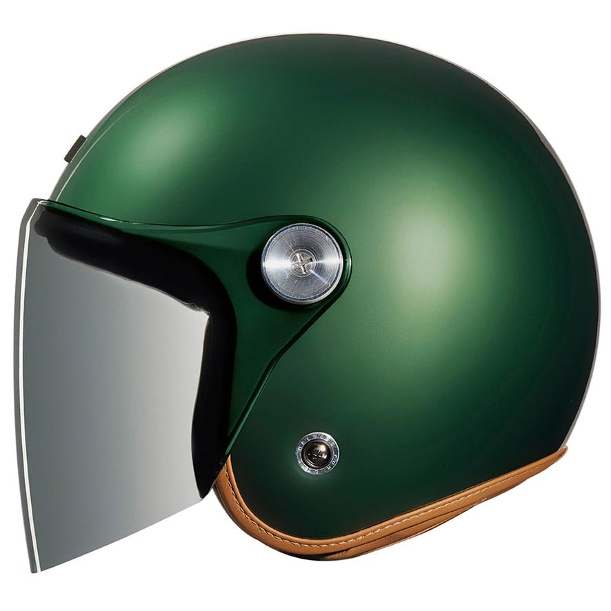 casque nexx xg10 clubhouse english green jet vintage biker scooter. Black Bedroom Furniture Sets. Home Design Ideas