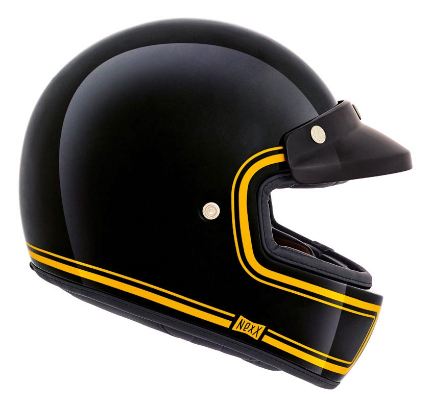 Nexx Xg100 Devon Black Full Casque Moto Int 233 Gral Vintage
