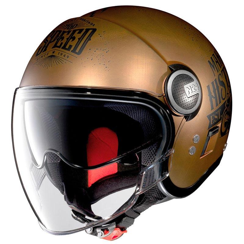 casque nolan n21 visor moto gp legends scratched copper. Black Bedroom Furniture Sets. Home Design Ideas
