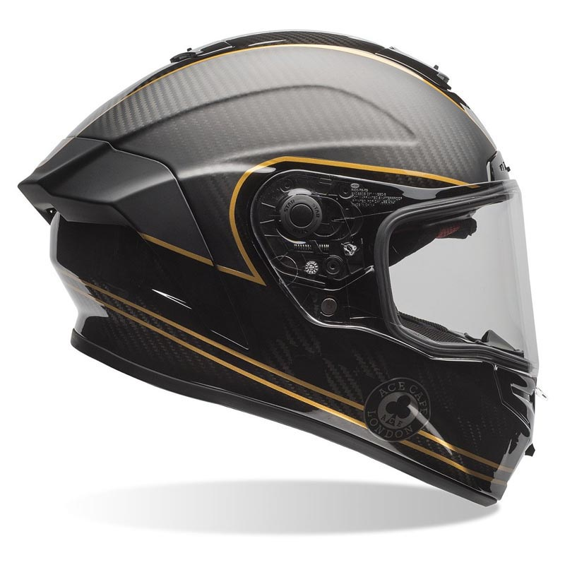 Casque Bell Race Star Ace Cafe Speed Check Int 233 Gral Moto