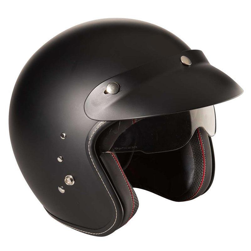 casque nox premium bobber jet biker moto custom. Black Bedroom Furniture Sets. Home Design Ideas