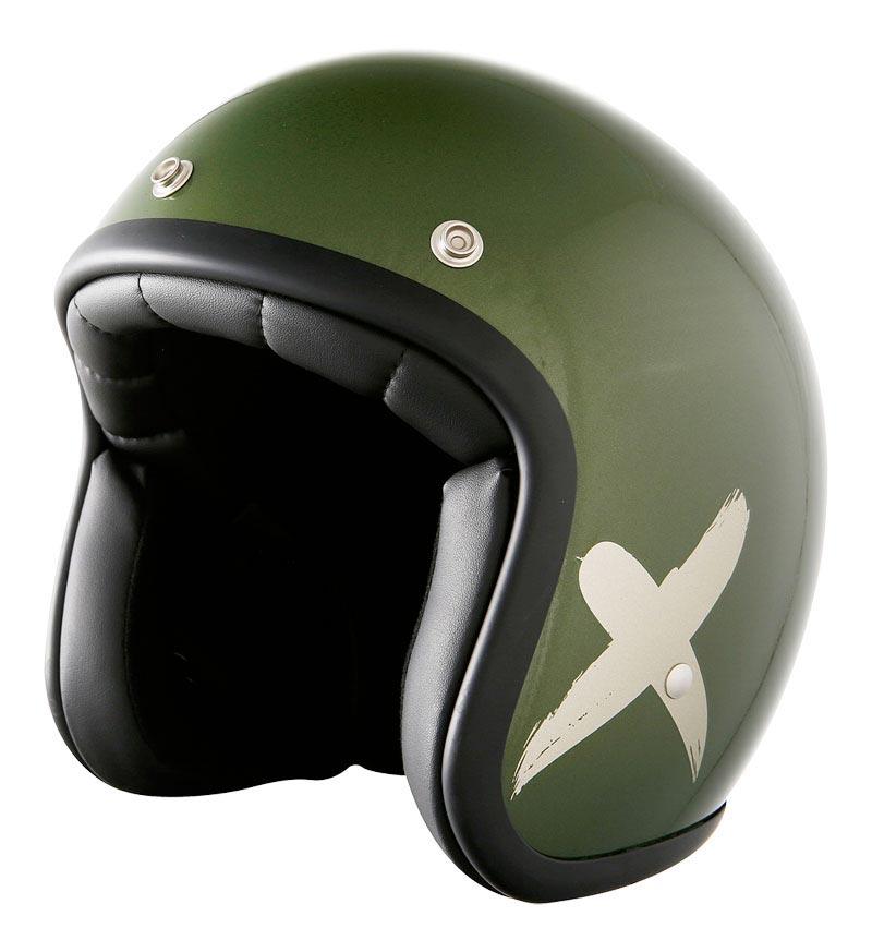 stormer pearl x rider vert kaki gris casque moto jet biker. Black Bedroom Furniture Sets. Home Design Ideas