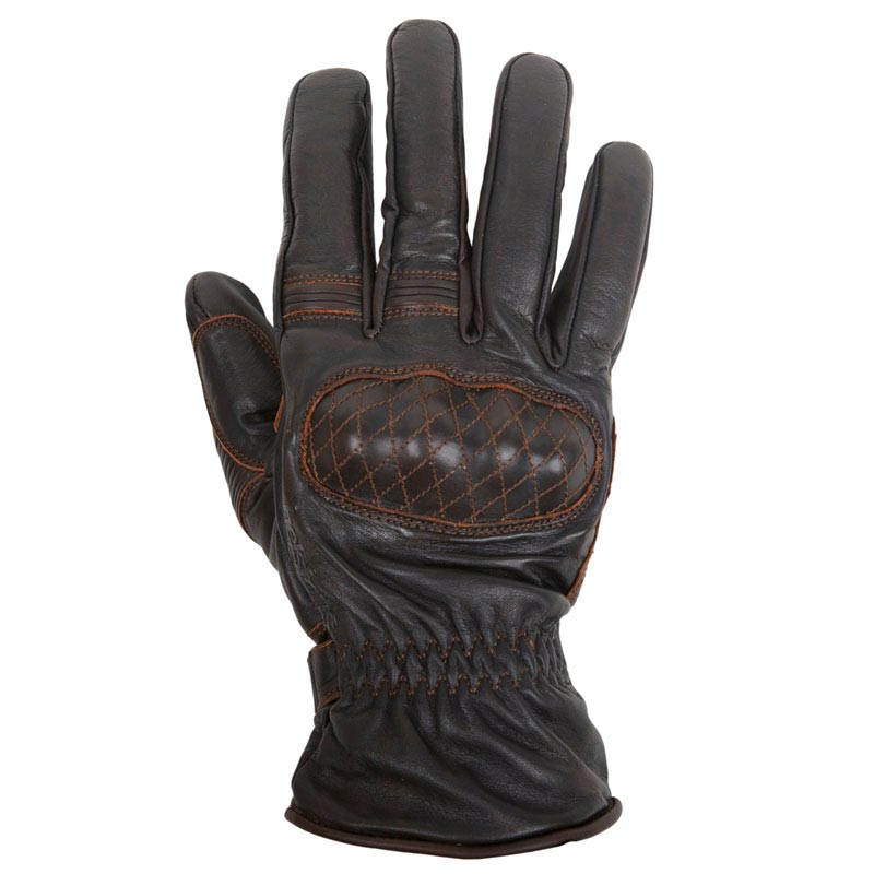 gants moto hiver helstons michi cuir pull up marron vintage. Black Bedroom Furniture Sets. Home Design Ideas
