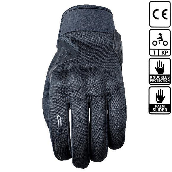 gant five globe black gant de moto homologu ce 1 kp coqu. Black Bedroom Furniture Sets. Home Design Ideas