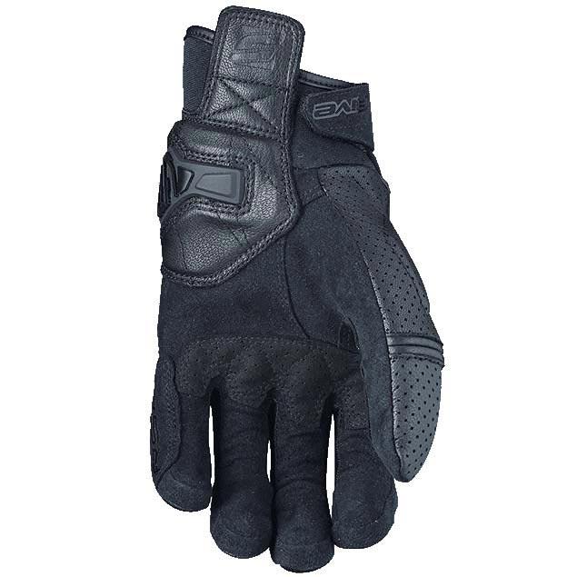 gants five rs2 black gant moto t cuir noir homologu ce. Black Bedroom Furniture Sets. Home Design Ideas