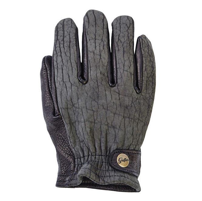 gants grifter konduro bison gloves biker moto vintage. Black Bedroom Furniture Sets. Home Design Ideas