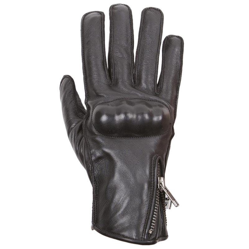 gants moto femme helstons ziggy t cuir noir cuir vintage ce. Black Bedroom Furniture Sets. Home Design Ideas