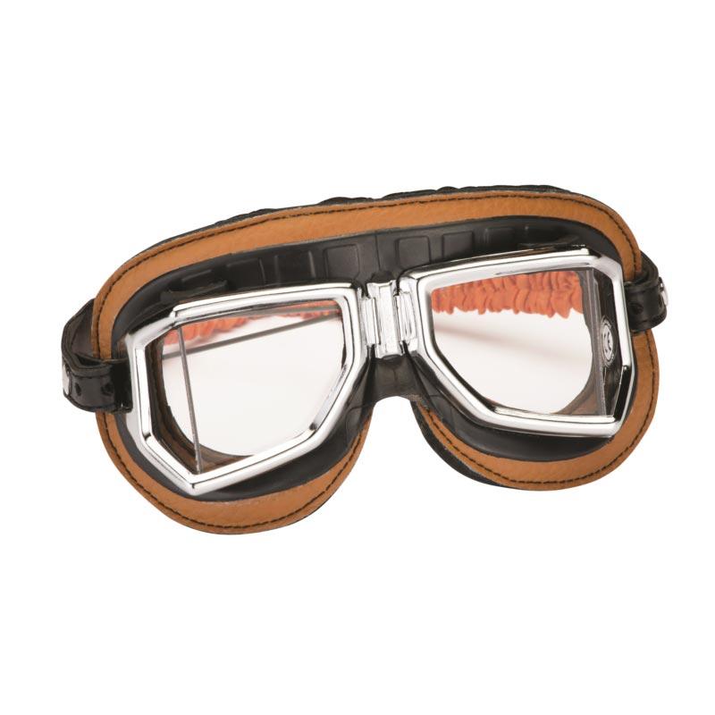 lunettes moto climax 513 s marron 513s masque vintage retro pans coupes a4cd50b348a2