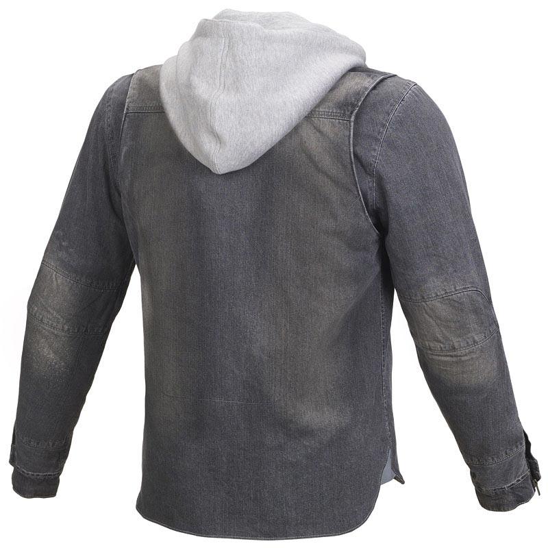 veste homme jeans moto nouvelle marque mens d chir denim veste manteau hommes slim fi. Black Bedroom Furniture Sets. Home Design Ideas