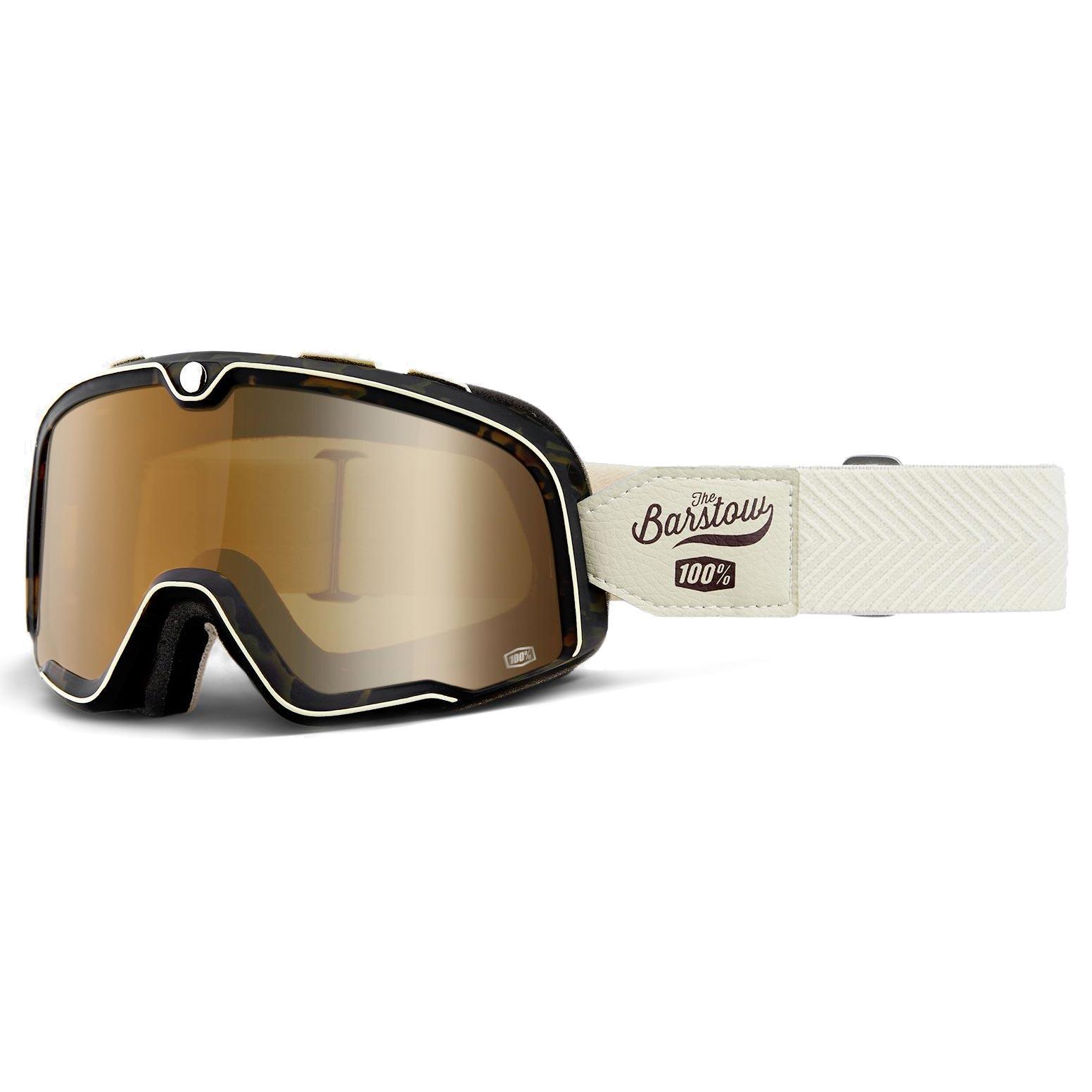 6bea7d475fad15 masque moto 100 barstow louis bronze lens lunettes casque vintage custom