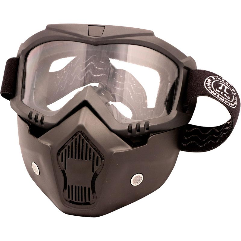 piwear invase kit mirror clear masque moto pour casque jet. Black Bedroom Furniture Sets. Home Design Ideas