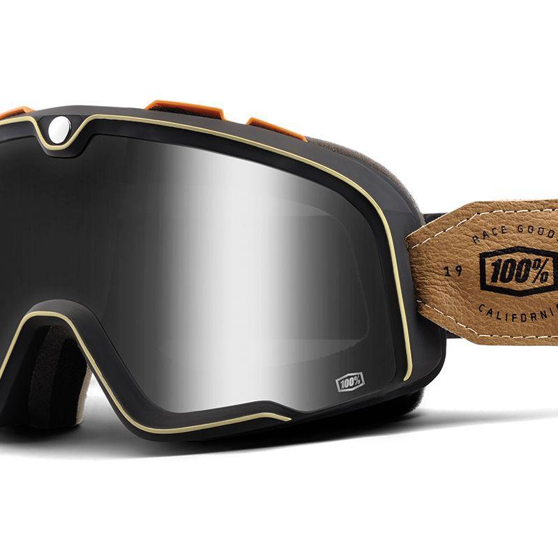 masque 100 barstow hudson lunettes moto vintage. Black Bedroom Furniture Sets. Home Design Ideas