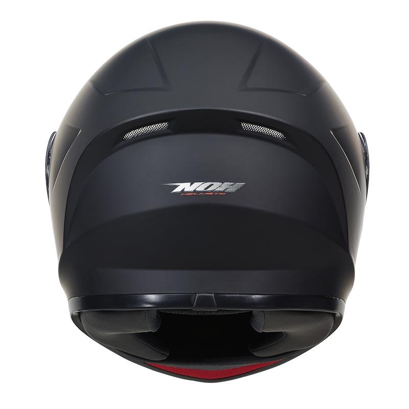 Casque Nox N961 Noir Mat Casque Intégral Pas Cher