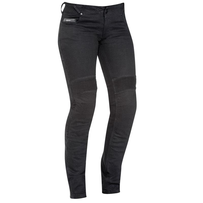 Femme Denerys Ixon Black Jean Moto A4L5R3j