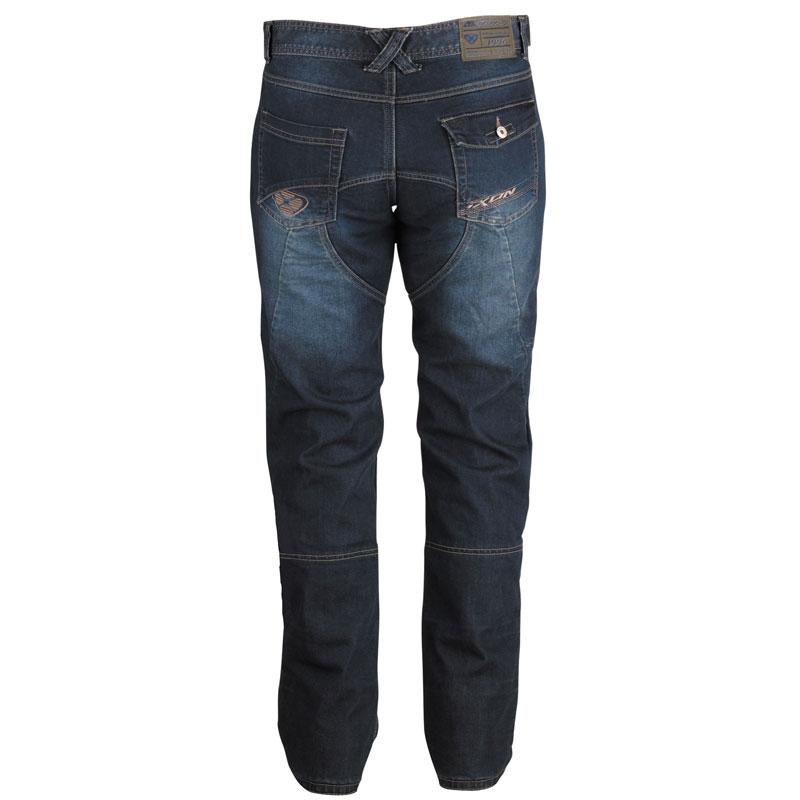 jean ixon sawyer blue pantalon moto homme textile kevlar. Black Bedroom Furniture Sets. Home Design Ideas