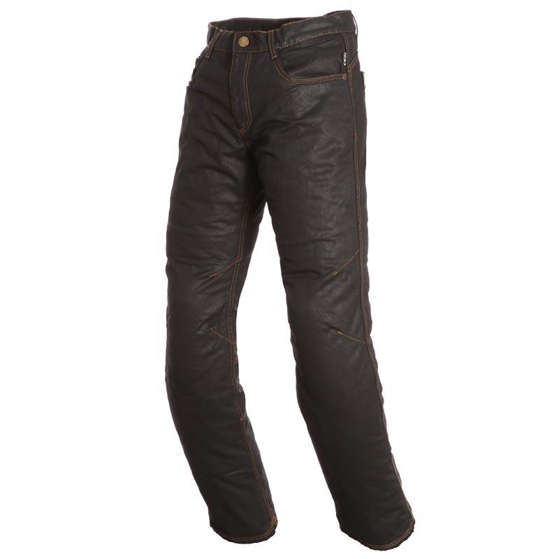 00c48e7474490 Pantalon moto jean homme, pièces kevlar, vintage, homologué CE. REF :  1SBOWER