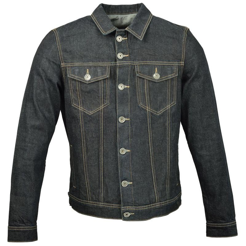 ride and sons renegade denim blouson moto jean homme. Black Bedroom Furniture Sets. Home Design Ideas