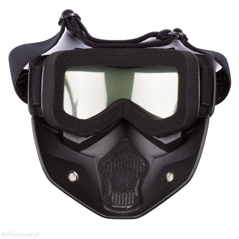 stormer r mask pearl black lunettes et masque moto. Black Bedroom Furniture Sets. Home Design Ideas