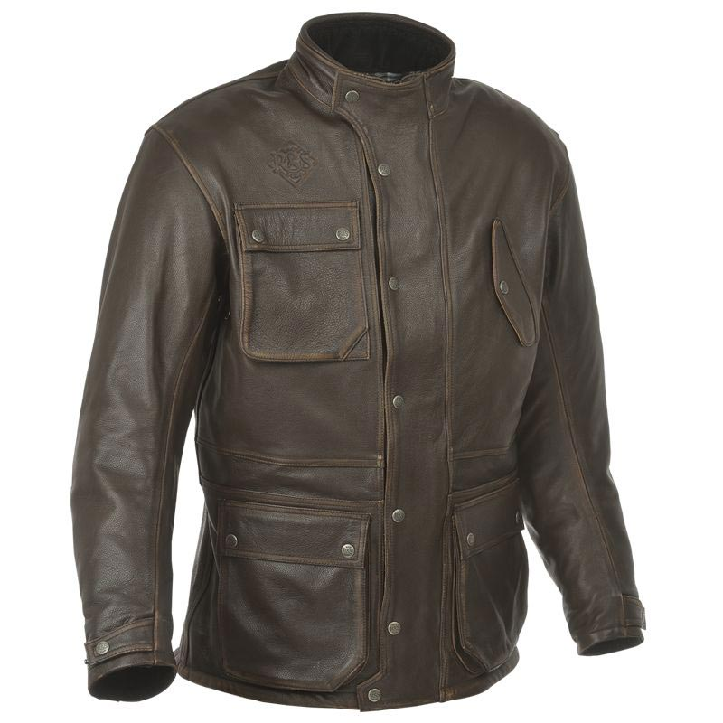 ride and sons escape leather jacket veste moto cuir vintage. Black Bedroom Furniture Sets. Home Design Ideas