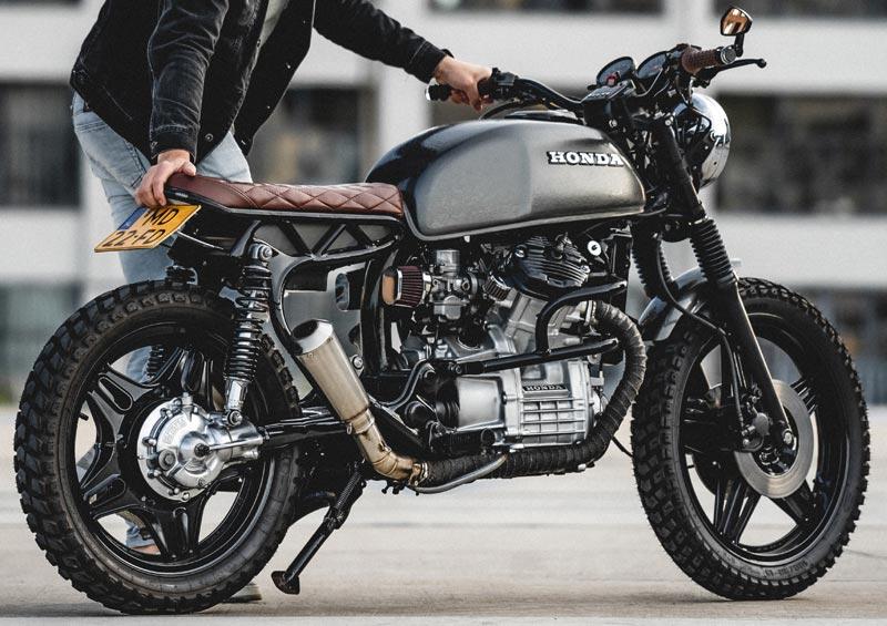 bande thermique moto protection echappement custom