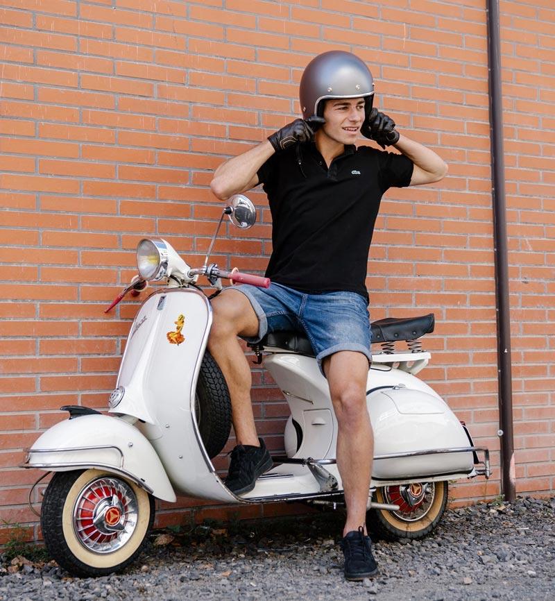 casque jet scooter homologue ece