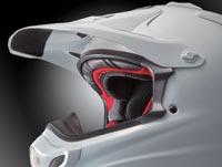 guidage bandeau du masque moto casque arai mx v