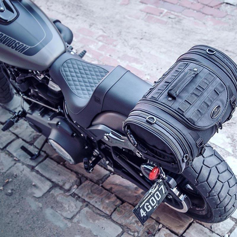 saddlemen sac sissy bar bagagerie moto custom