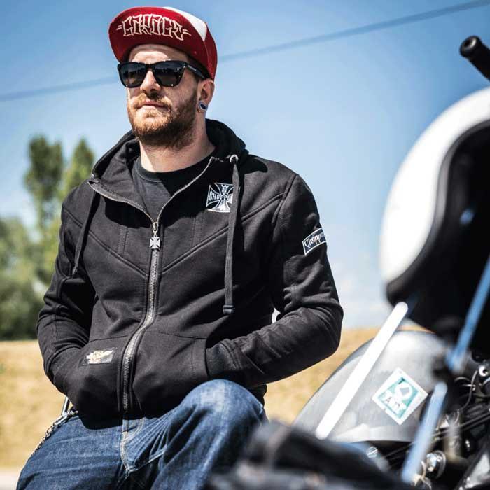 west coast choppers vetements biker sweat moto motard